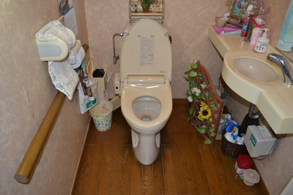 宮崎市 リフォーム トイレ 施工前