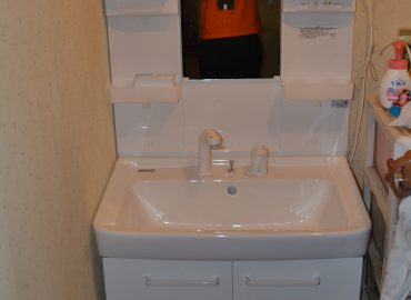 宮崎市の洗面化粧台リフォーム