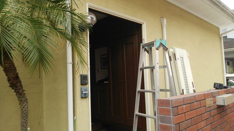 宮崎市 リフォーム 玄関まわり ドア撤去