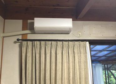 宮崎市のエアコン脱着・取替え