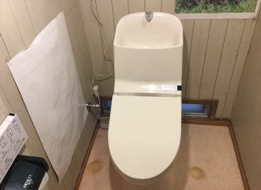宮崎市のトイレリフォームと給水排水管補修
