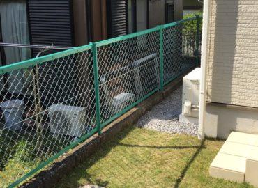 宮崎市のフェンス塗装