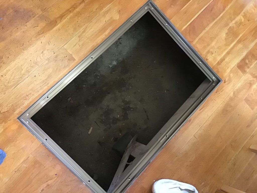 床下収納リフォーム施工前