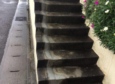 宮崎市の階段モルタル補修工事