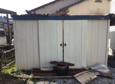 宮崎市の倉庫内不用品処理&倉庫解体