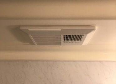 宮崎市の浴室換気扇・浴室灯入替工事