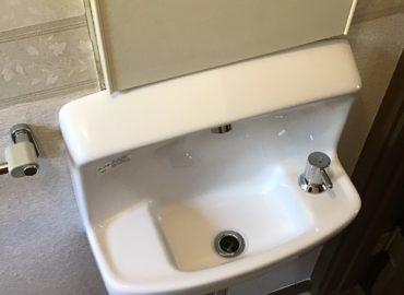 宮崎市のトイレ手洗器入替工事