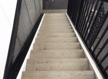 宮崎市の階段高圧洗浄