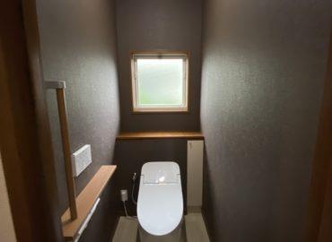 宮崎市のトイレ内装工事