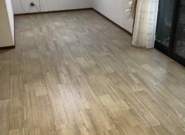 宮崎市のリビング床CF貼り